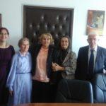 Starenje zahteva delovanje: delegacija starijih u Ministarstvu