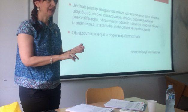 Ljudska prava starijih – predavanje na Fakultetu političkih nauka