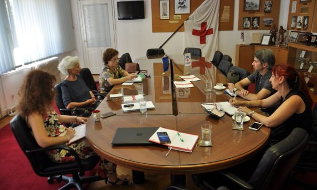 Monitoring poseta Crvenom krstu Crne Gore i mreži Dignitas