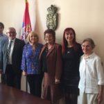 Delegacija starijih u poseti Ministarki bez portfelja odgovornoj za demografiju i populacionu politiku