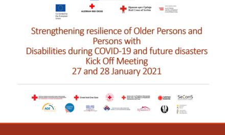 Jačanje otpornosti starijih osoba i osoba sa invaliditetom tokom COVID-19 i budućih kriza