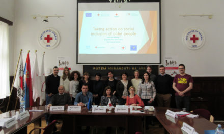 """Prvi regionalni sastanak projekta """"Inicijativa za socijalno uključivanje starijih osoba"""""""