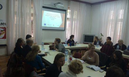Inicijativa za socijalno uključivanje starijih osoba: Prvi informativni sastanak