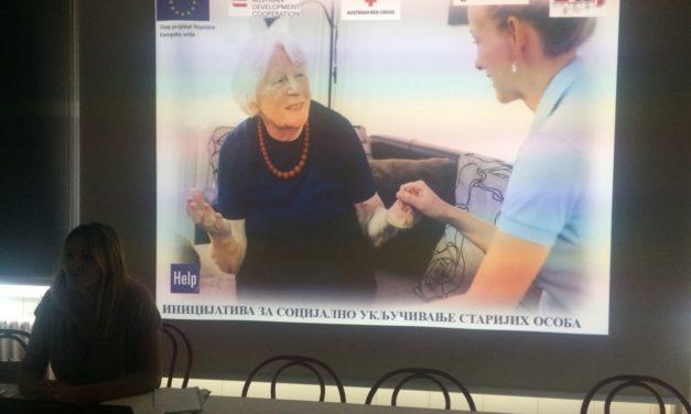 Predstavljanje programa obuke za neformalne negovatelje