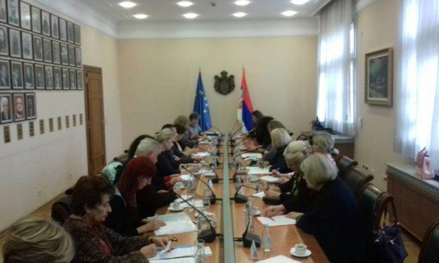 Treća sednica Saveta Vlade za pitanja starenja i starosti