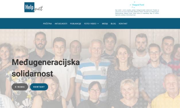 """Pokrenut sajt u okviru projekata """"Jačanje međugeneracijske solidarnosti"""""""