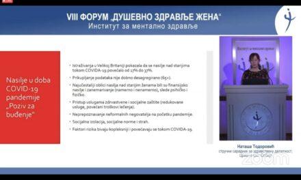 Duševno zdravlje žena- VIII Forum Instituta za mentalno zdravlje