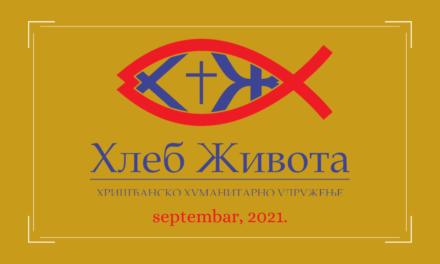Aktivnosti Hleba Života u septembru 2021- Program Briga o starijima